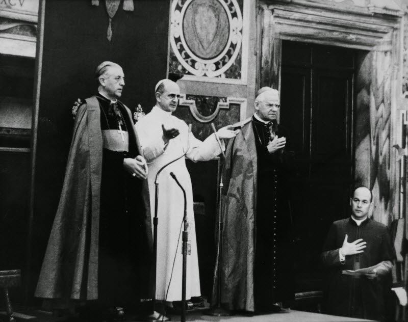 Cardijn devient cardinal