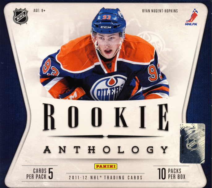 12 Panini Rookie Anthology Hockey