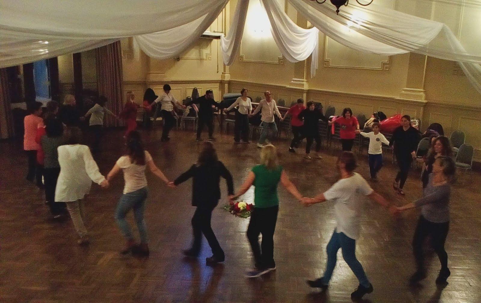 Danzas en el Club Español