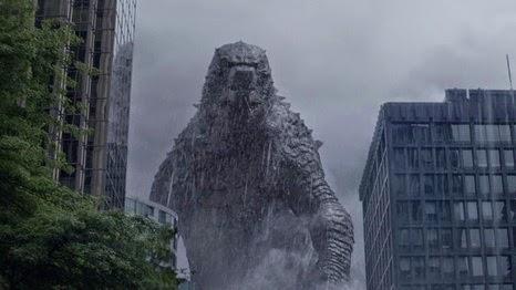 Gambar Godzilla 2014 Gedung New York City