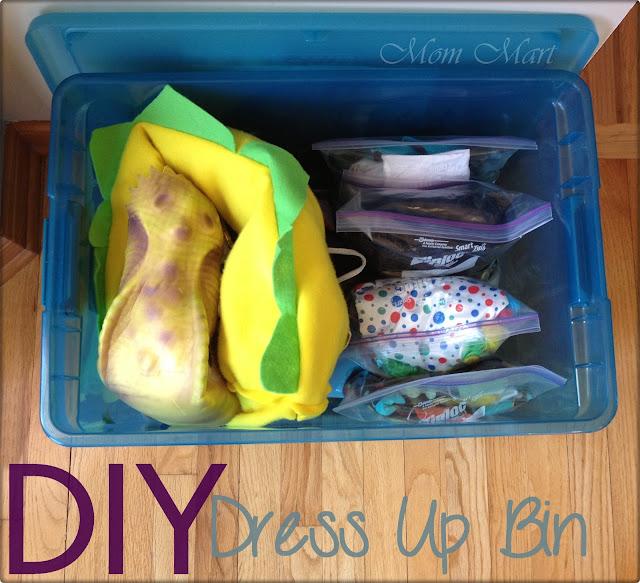 DIY Dress up Bin