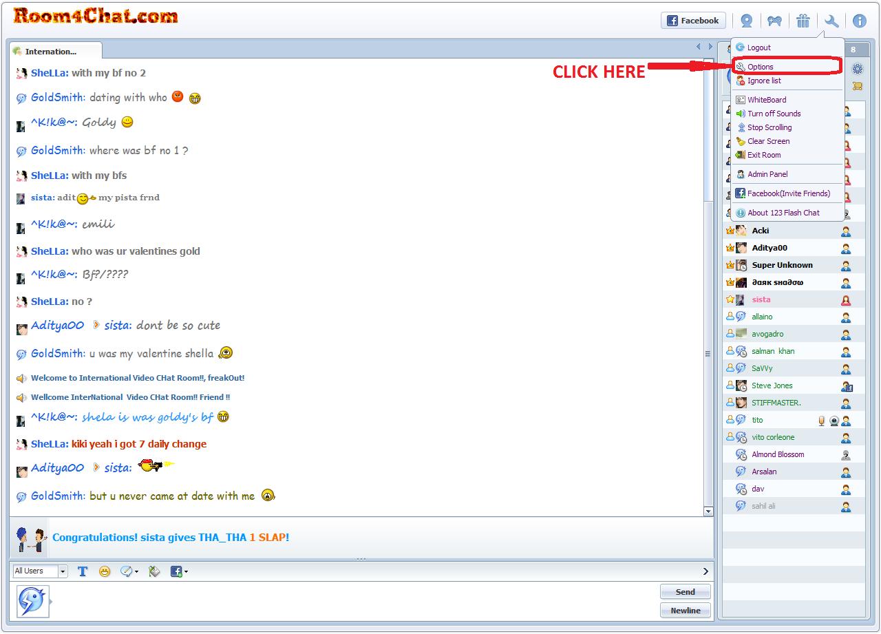 naija chat room username