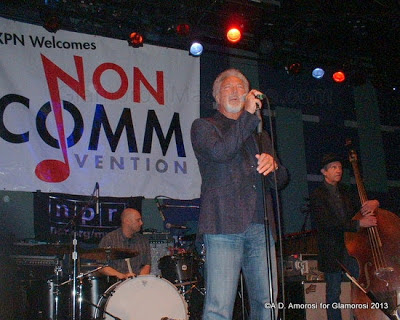 Tom Jones performing at Non-Comm 2013, Phila P, Photo by A.D. Amorosi for Glamorosi Magazine