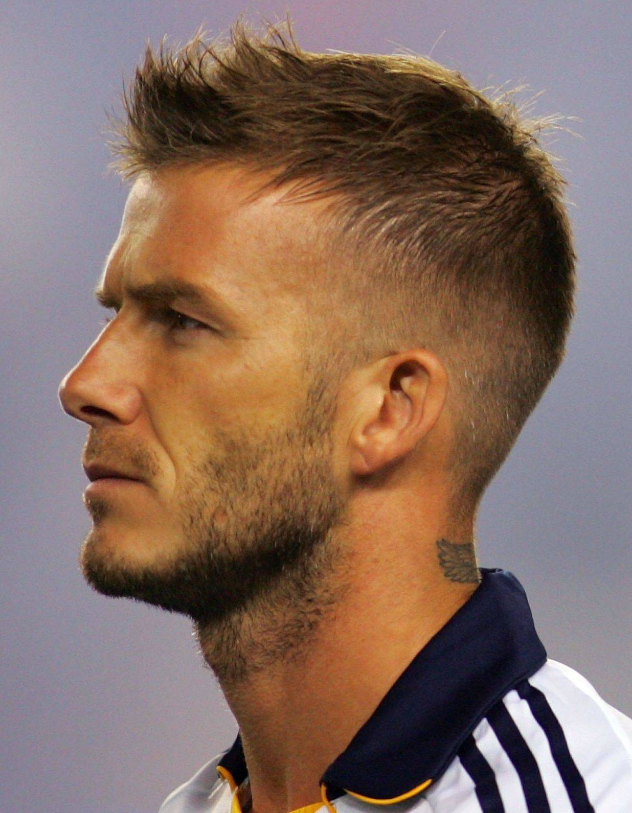 David Beckham Hair Styles Sports Stars