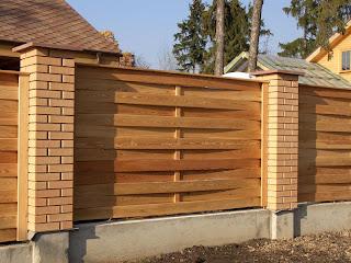 Деревянный забор. Фото 66