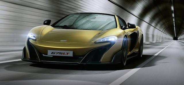 マクラーレンの限定車「675LTスパイダー」が発表から2週間程度で完売!