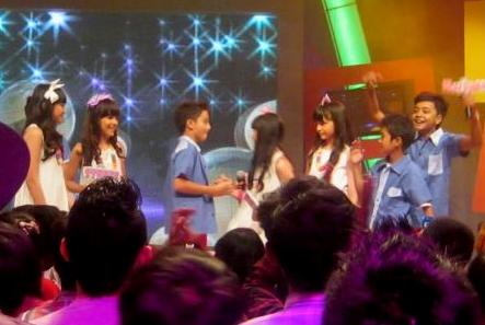 "Winxs in MNCTV ""Konser Boys Meet Girls"""