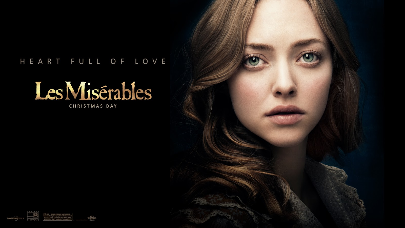 Amanda Seyfried Les Miserables HD Wallpaper