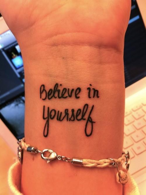 Tatuagens Femininas Frases Inglês