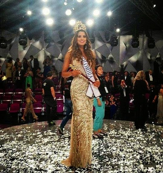SASHES AND TIARAS..Señorita Colombia/Miss Universe