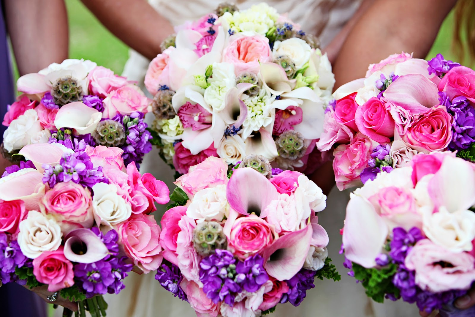 Wedding Bouquets In April : April flowers monday cutie sun valley idaho a custom wedding dress and dear friends