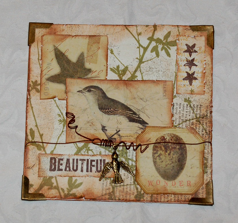Zuzu's Petals 'n' Stuff: Speedy card : for Calico Crafts