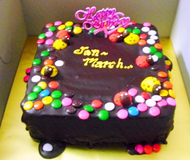 MIDNITE BAKER BANGI cake besday