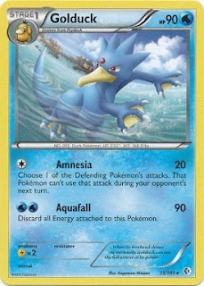 Golduck Boundaries Crossed Pokemon Card