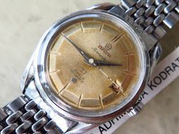 TITONI AIRMASTER - AUTOMATIC 77 JEWELS - GOOD LOOKING AGING DIAL