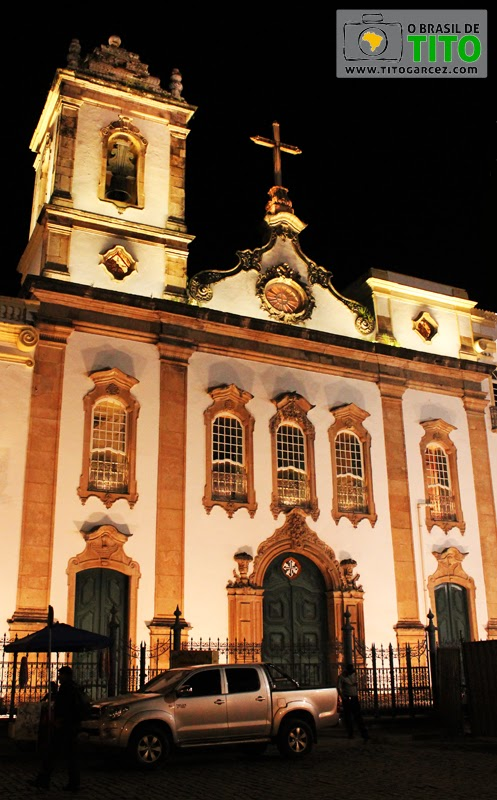 Igreja da Ordem Terceira de São Domingos Gusmão, no Centro Histórico de Salvador, na Bahia - Por Tito Garcez em 2013