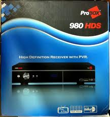 NOVA ATUALIZAÇÃO PROBOX 980 HD  - V 1.25 - 29/07/2013