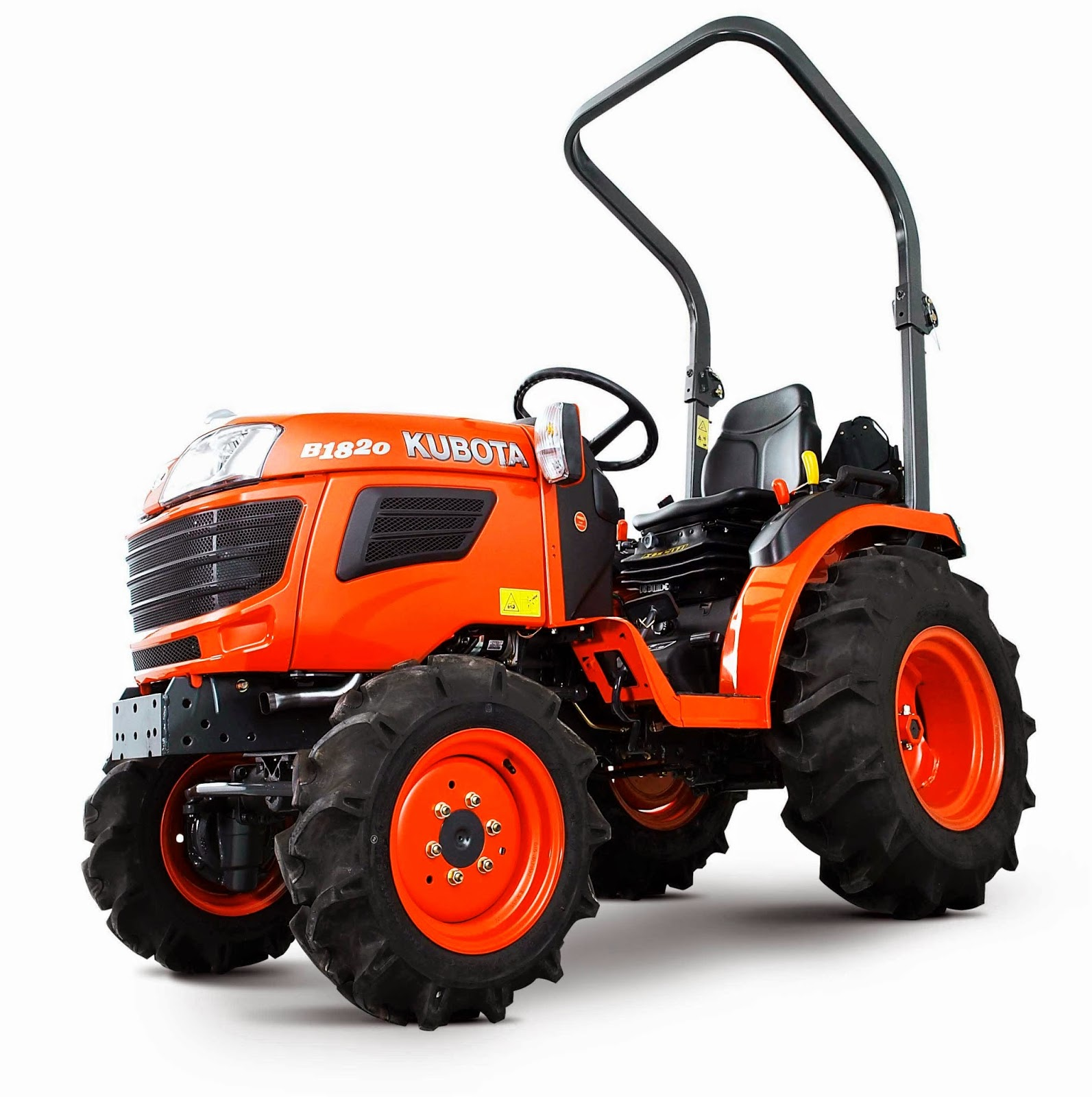 Kubota B20 Series B1620 Compact Tractor, World of Mowers