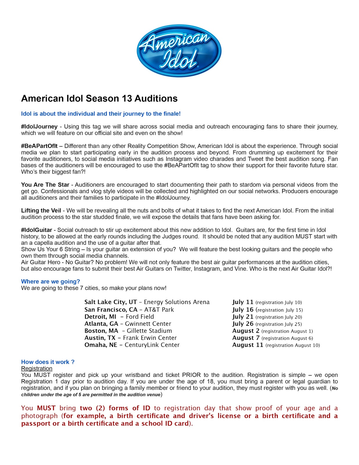Positive detroit american idol season 13 auditions this sunday at posted by erin rose at 1152 am labels detroit film industry detroit music 1betcityfo Images