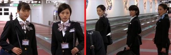 Misaki and Wakamura face Nagao, Mikami and Asou.