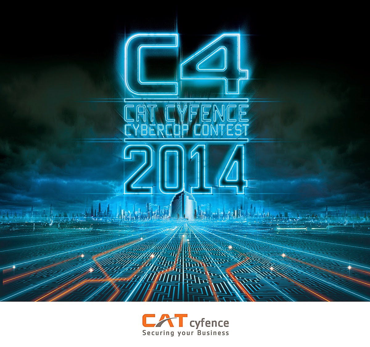 Key Visual Design Cat Cyfence Cybercop Contest 2014