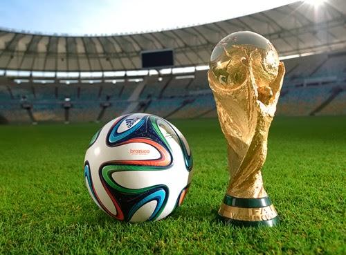 Balón Copa Mundial Brasil 2014 de fútbol