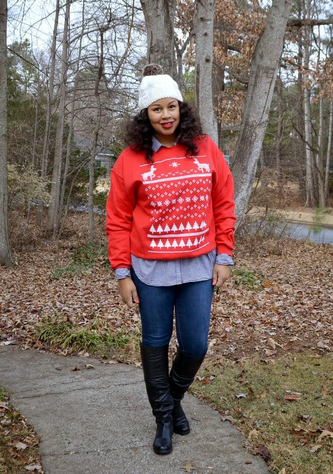 Mamanista Fridays Ugly Christmas Sweater Baby Shopaholic