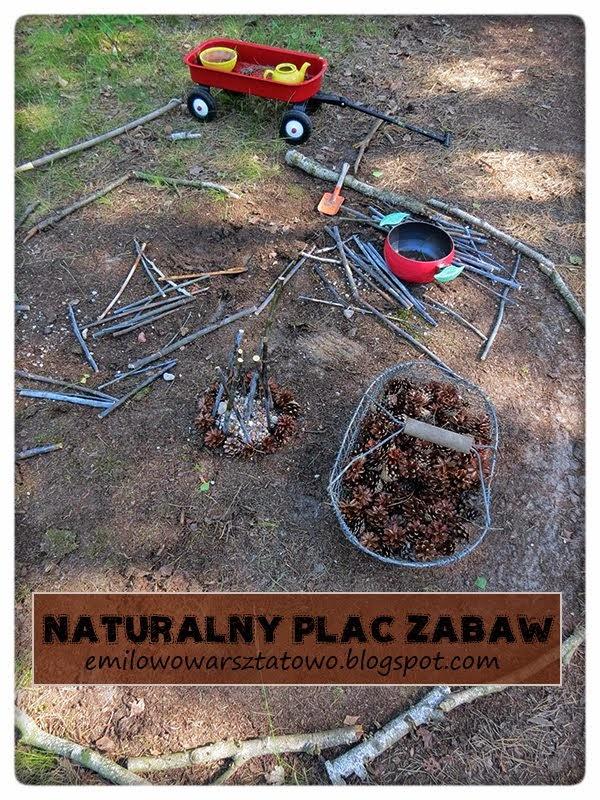 """Jak zrobić naturalny plac zabaw """"z niczego""""?"""