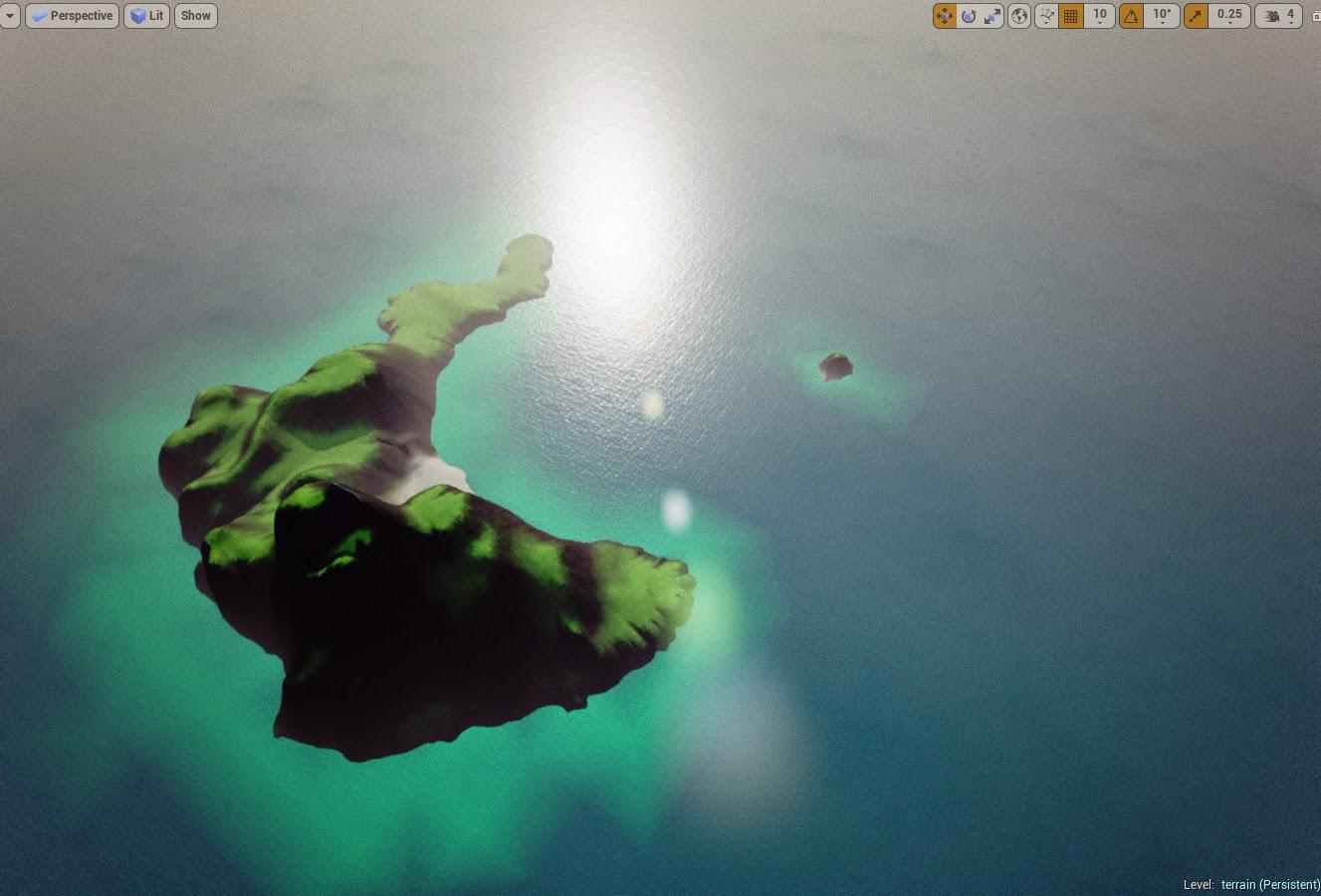 Island landscape result 2