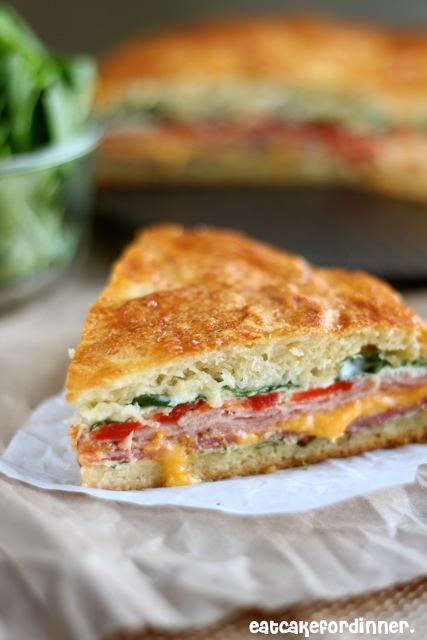 Eat Cake For Dinner: Baked Italian Sandwich
