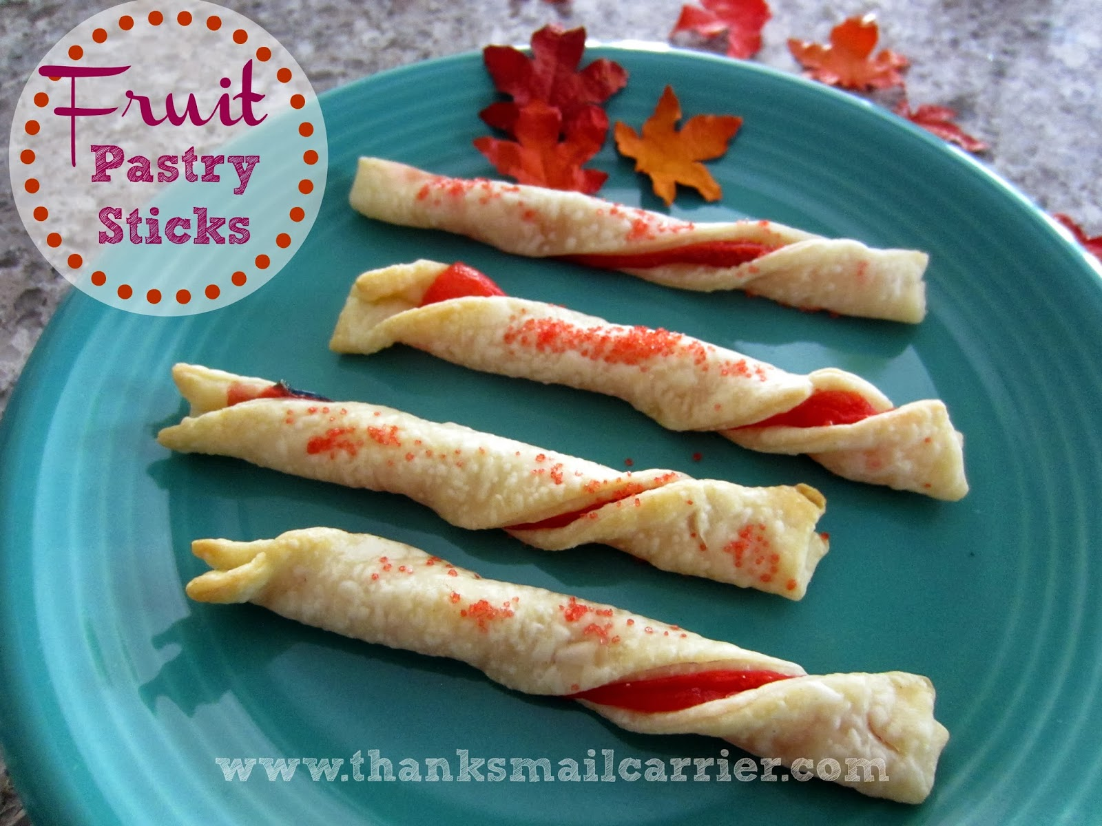 Fruit Pastry Sticks