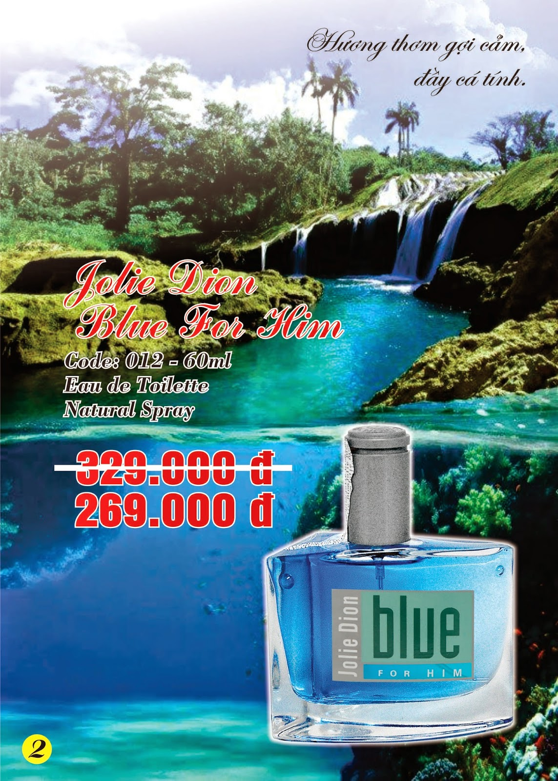 Jolie Dion Chéri Blue For Men