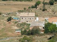 Primer pla de la masia El Puig