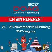 DOAG 2017 Konferenz + Ausstellung