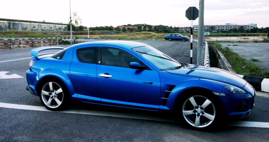 Blue Mazda Rx 8 For Sale Autopiazza