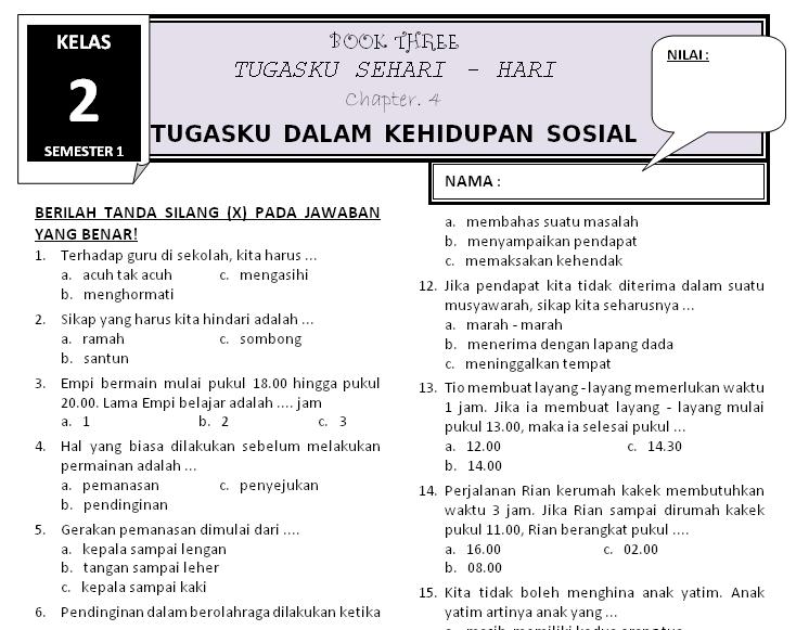 Download Soal Kelas 2 Tema 3 Subtema 4 Rief Awa Blog Download Kumpulan Soal Ujian Sd Terbaru