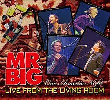 Mr Big – Live From The Living Room – CD 2012