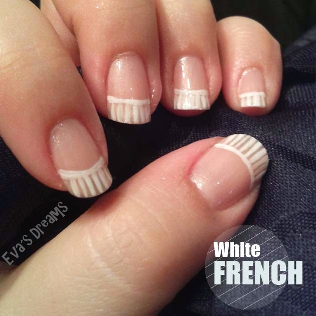 Nail of the week: Nail design - das etwas andere weiße French