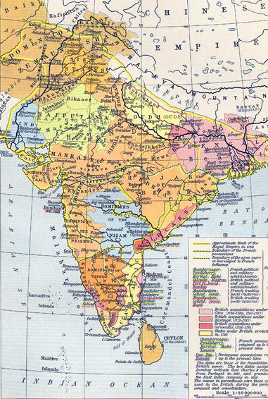 South Asia as in India, Pakistan, Sri Lanka, Bangladesh, Ladakh, Nepal, Bhutan