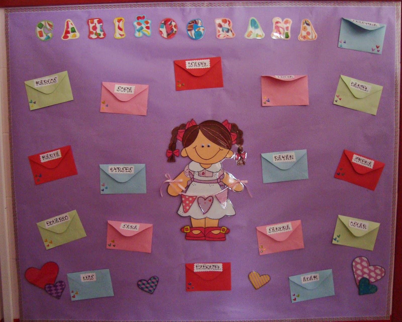 Plastificando ilusiones cari ograma for Actividades para el salon de clases