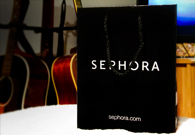 Sephora bag, Sephora shopping bag
