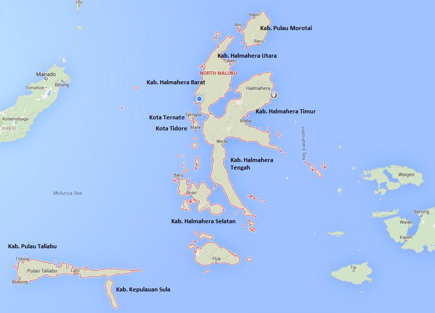 Provinsi Maluku Utara Berbagai Objek Wisata Di Spice Islands Info Tempat Wisata