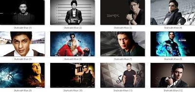 Shahrukh Khan theme for Windows 7 / 8 / 8.1