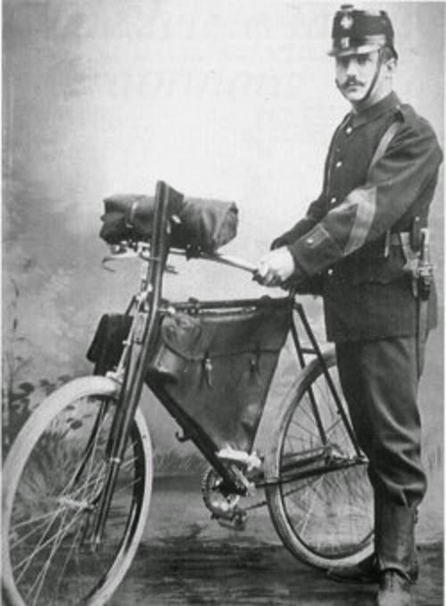 Storia della bicicletta d'ordinanza