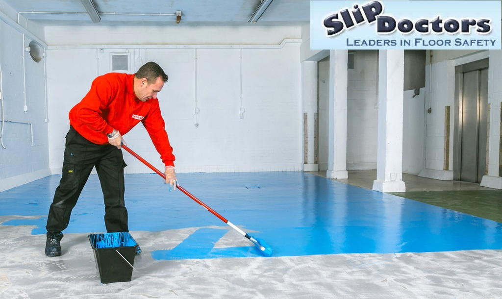 Anti slip coating what are the best method to make tiles for New tile technology