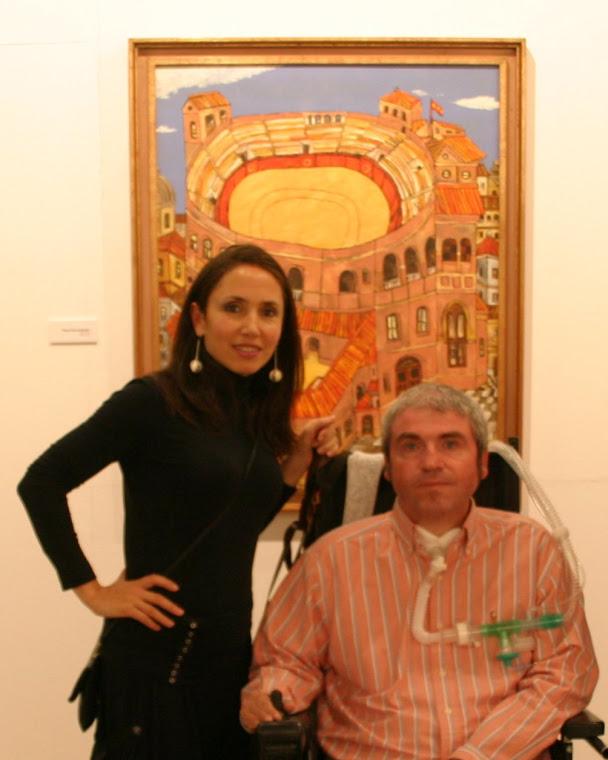 RAQUEL CANTERO (Galeritas Sammer Gallery) y PACO