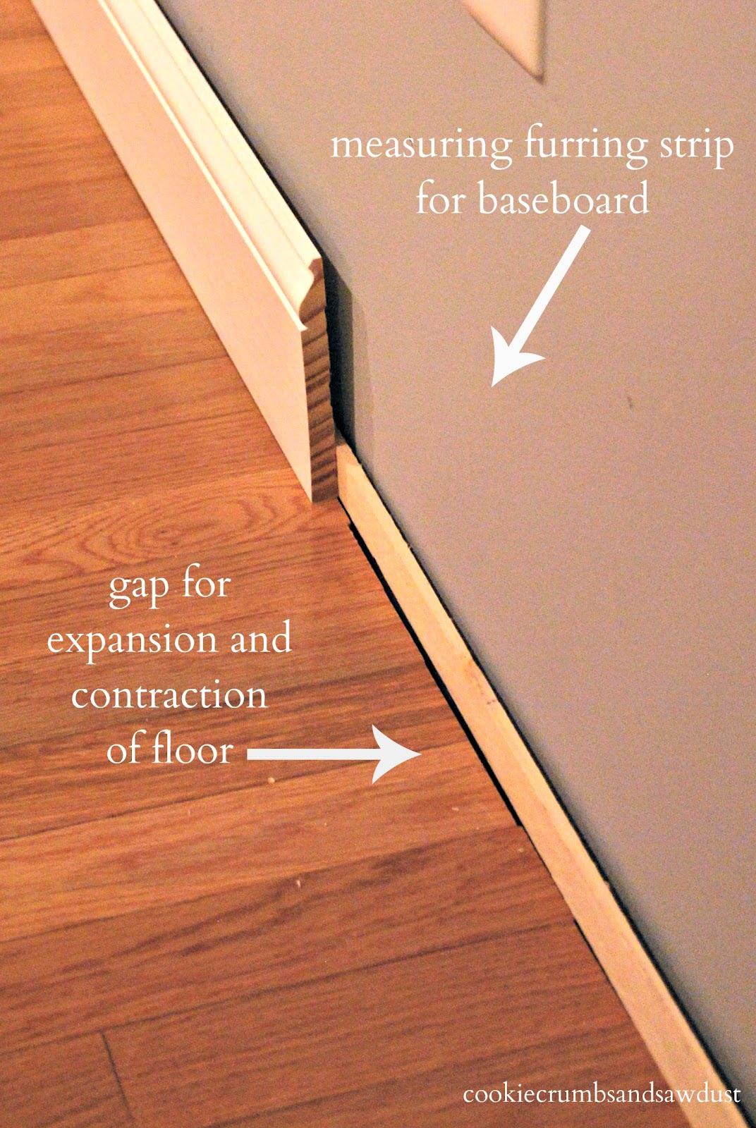 How to cut base molding around wall vent - Hardwood How To