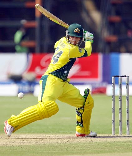 Australian professional player in cricket Phillip Hughes
