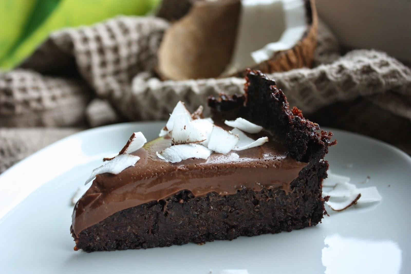 Gateau au quinoa et chocolat