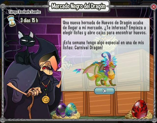 dragon carnaval gran premio del mercado negro del dragon